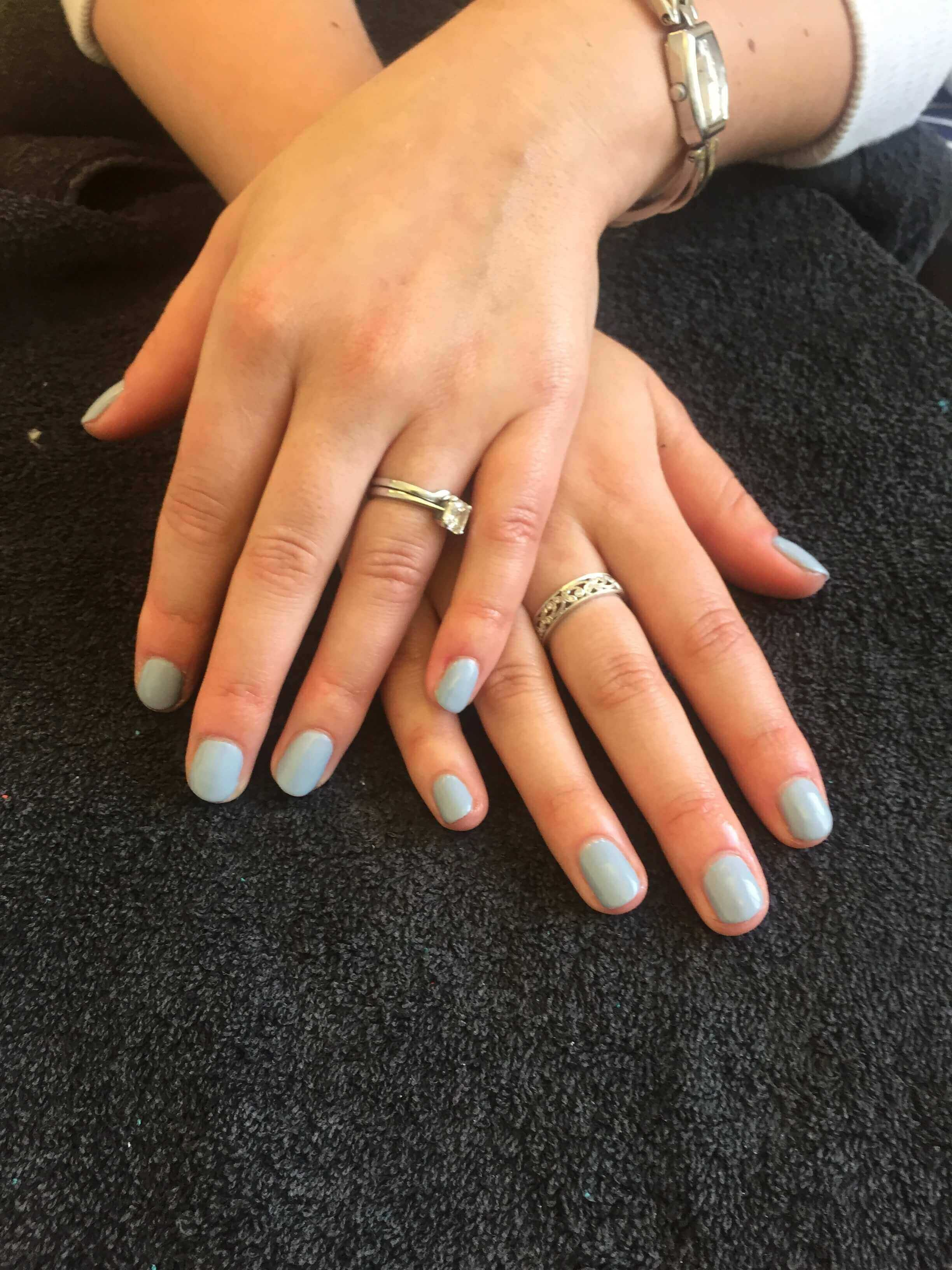 Gel Nails in Enfield at home
