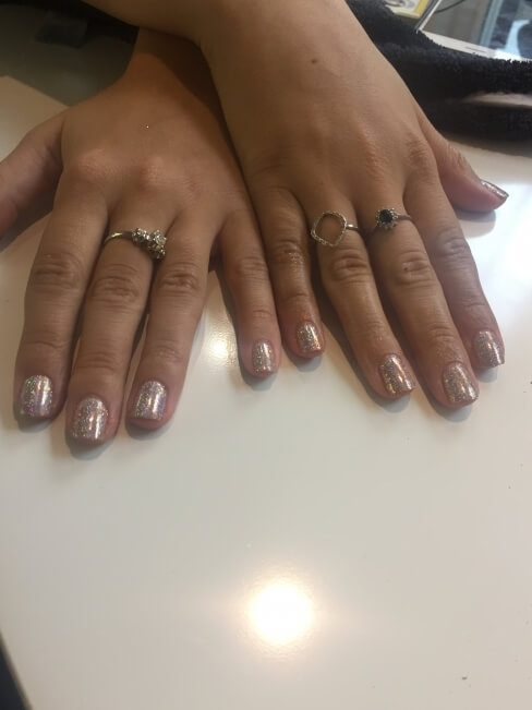 Glitter Nail art, Mobile Beauty in London