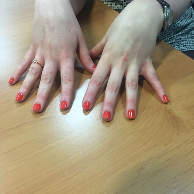 Jessica Geleration Manicure